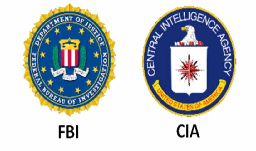 The FBI and the CIA