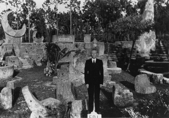 Leedskalnin at Coral Castle
