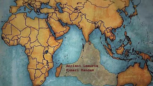 The Lost Continent of Lemuria