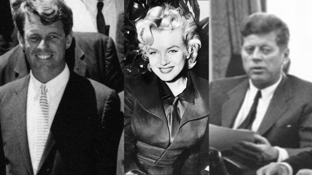 Monroe and the Kennedy