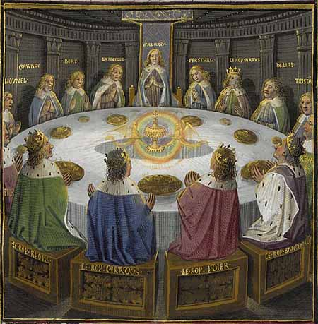 Knights of the Round Table and the Holy Grail