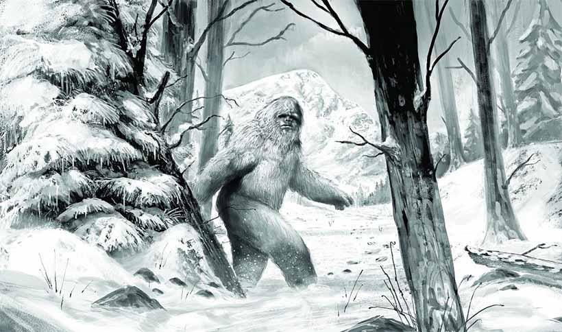 Yeti - The Abominable Snowman